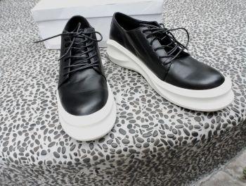 流線厚底鞋